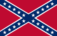 Naval jack of the Confederate States (Two Americas)