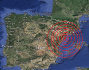 WWIII Earthquake Spain