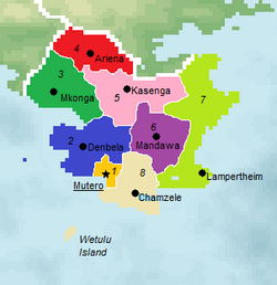 Provinces of Mabuda (New World Map Game)