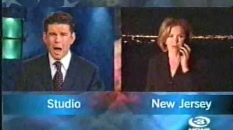 September 11, 2001; New Zealand's TV3 6 O'clock news