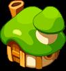 LifeR Green Mushroom Hut