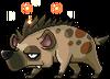 Mob Mane Fur Hyena