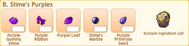B Slime Collection