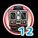 Subway 12 icon
