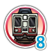 Subway 8 icon
