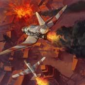 Empire kamikaze strike-accomplished