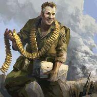 REP Quartermaster Portrait