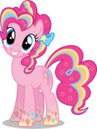 Pinkie pie rainbowfied from group shot by caliazian-d7zpb4r