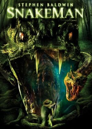 The Snake King DVD Cover