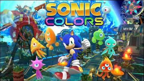 """Sonic Colors """"Sweet Mountain Act 1"""" Music"""