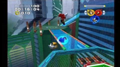 Sonic Heroes Grand Metropolis (Team Sonic)