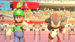 Luigi and shadow