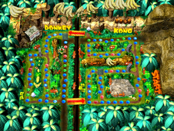 DK's Jungle Adventure - Map
