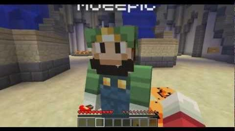 Mario Plays Minecraft! (Introduction)