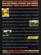 DKC Player Guide Advert (Nintendo Power)