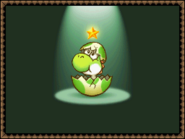 Baby Yoshi - Star Child Seven - Yoshi's Island DS