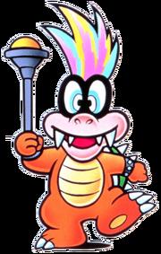 Iggy Koopa Artwork - Super Mario Bros. 3