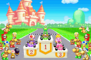 Awards Ceremony - Mario Kart - Super Circuit