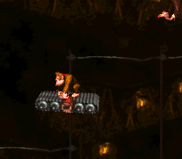 Tanked Up Trouble (On a Platform, Donkey Kong Country)