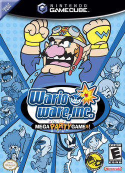WarioWare, Inc. Mega Party Games! - North American Boxart