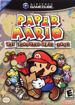 Paper Mario - The Thousand-Year Door (North American box)