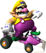 Wario Artwork - Mario Kart DS