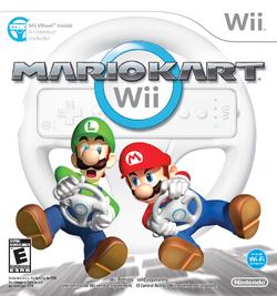 Mario Kart Wii - North American Boxart
