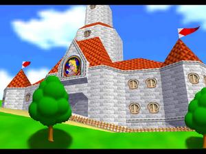 Peach's Castle - Overview - Super Mario 64