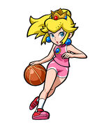 Mario Hoops 3 on 3 - Peach 01