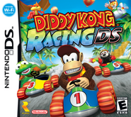 Diddy Kong Racing DS - North American Front Cover