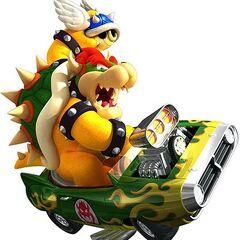 Bowser en Mario Kart