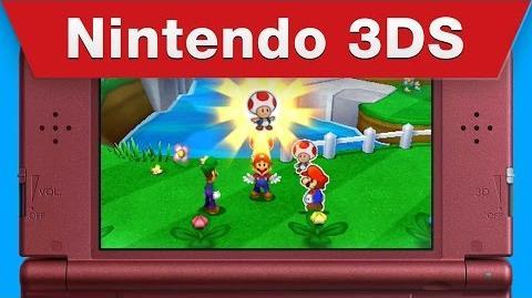 Nintendo 3DS - Mario & Luigi Paper Jam E3 2015 Trailer