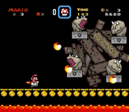 Reznor Battle - Super Mario World