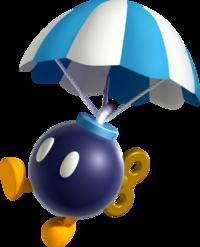 Para-bomb, New Super Mario Bros. U