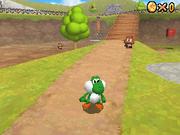Yoshi Eating Goomba - Super Mario 64 DS
