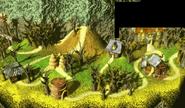 Gloomy Gulch Overworld (Donkey Kong Country 2, Game Boy Advance)