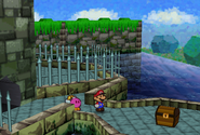 Treasure Chest Outside The Koopa Bros. Fortress