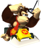 Donkey Kong Artwork - Mario Kart DS