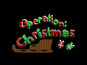 Operation Christmas Title Screen