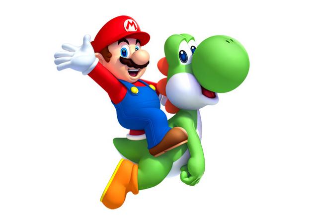File:New Super Mario Bros. U artwork - Mario & Yoshi 1.png