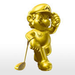 <i>Mario Golf: World Tour</i> also hosts Gold Mario as a