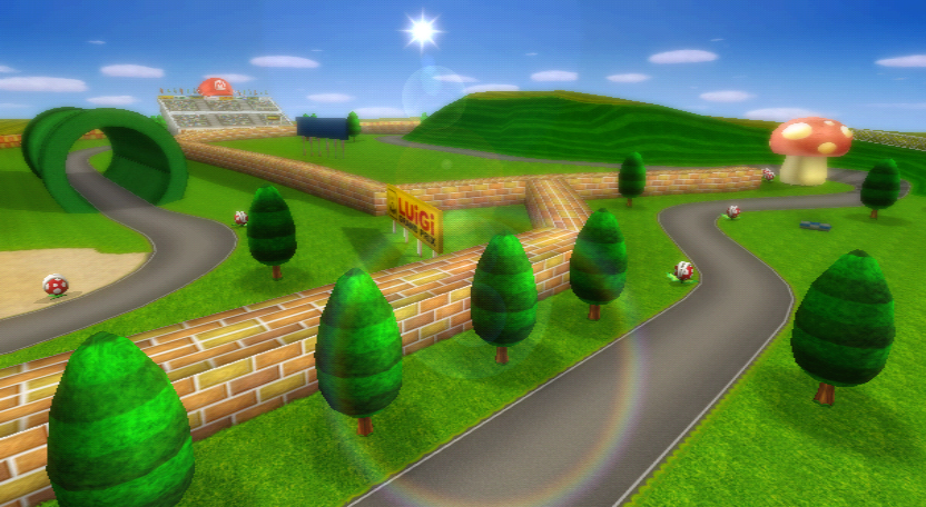 Mario Raceway Mario Kart Racing Wiki Fandom Powered By