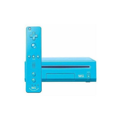 The Blue Wii.