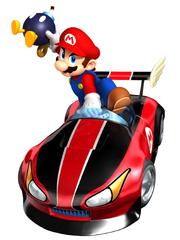 Wild Wing Mario Artwork - Mario Kart Wii