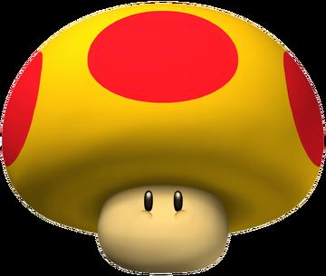 Giant Mushroom - Mario Kart Wii Artwork