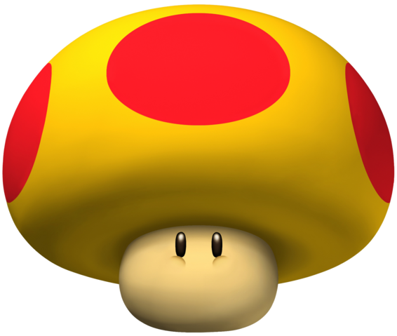 File:Giant Mushroom - Mario Kart Wii Artwork.png