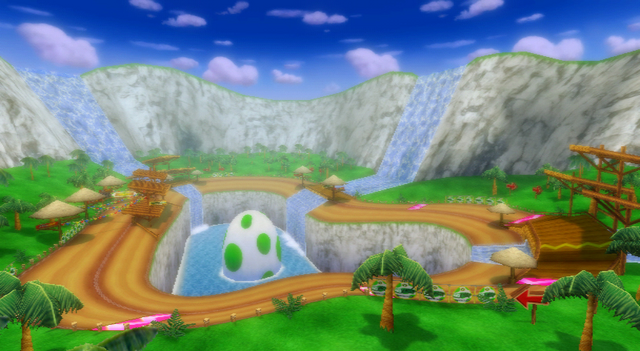 File:Yoshi Falls Overview - Mario Kart Wii.png