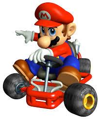 Mario from Mario Kart Super Circuit