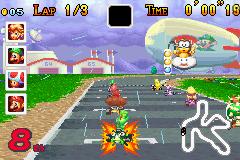 Rocket Start (Mario Kart Super Circuit)