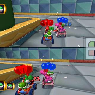 Block City in <i>Mario Kart: Double Dash!!</i>.